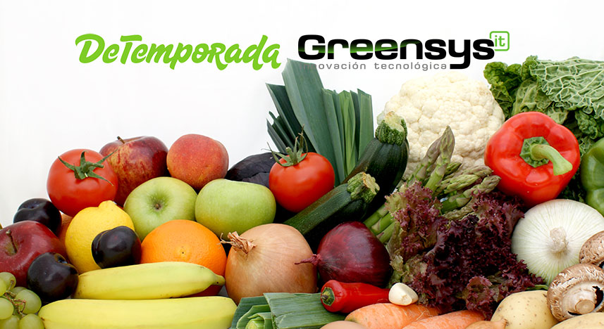 Greensys implanta sus productos en la cadena de fruterías De Temporada.